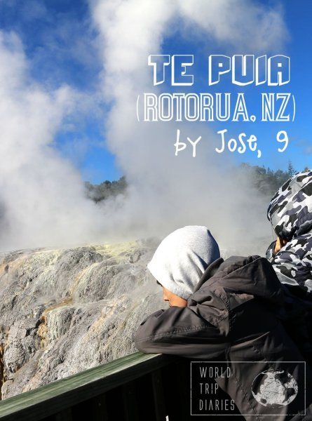 A visit to Te Puia (Rotorua, NZ) narrated by José (9 year old). Click to read it!