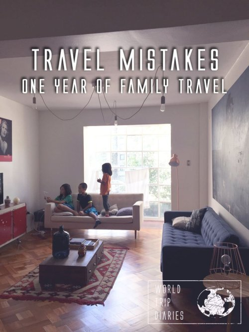 Here are the biggest travel mistakes we've made during our first year of travels!