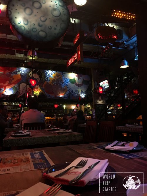 Andres Carne de Res, one of the best restaurants in Bogotá, Colombia