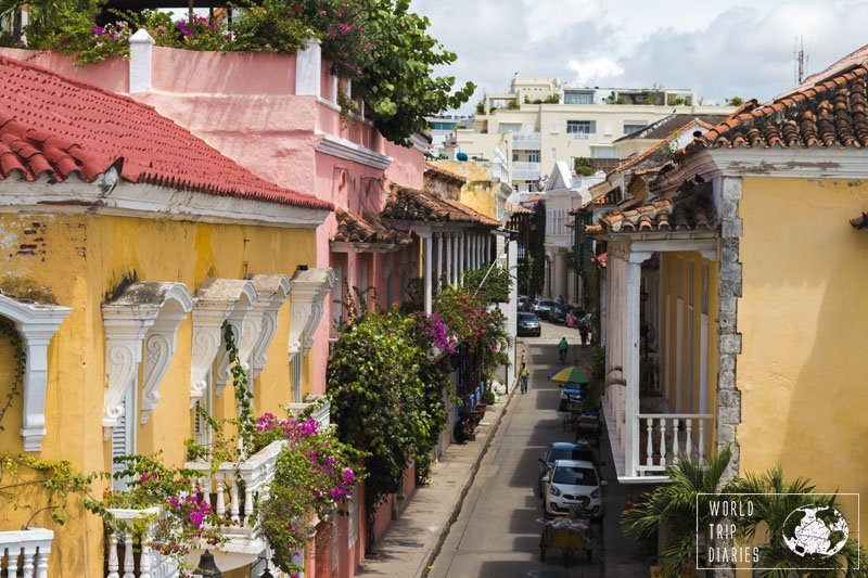 Colombia's touristic gem is Cartagena: Caribbean beaches, colorful buildings, delicious food. Perfect for a family holiday!