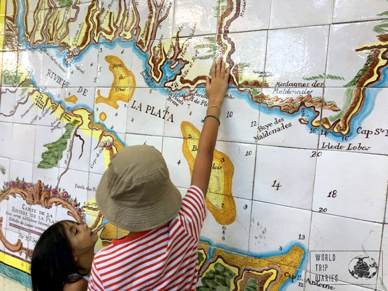 colonia map uruguay worldschool