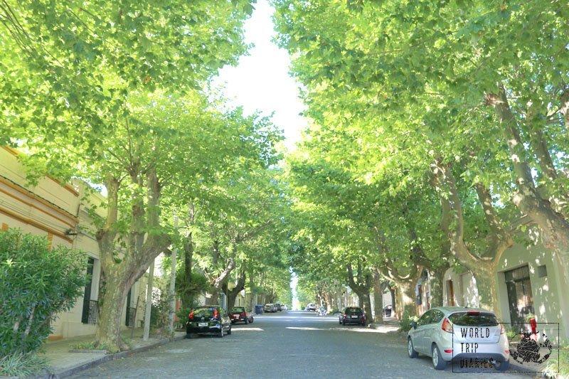 street colonia uruguay