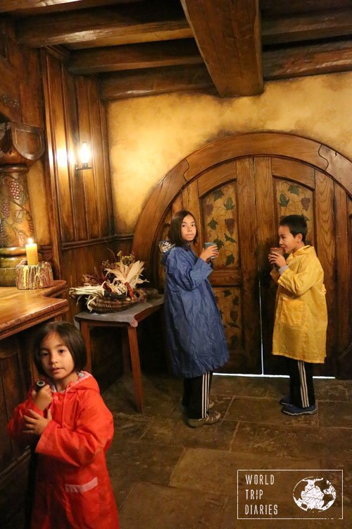 We had the chance of visiting Hobbiton for dinner once and it was great. Everyone, including the kids, loved it!