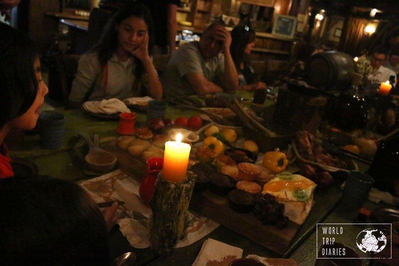 hobbiton dinner nz family
