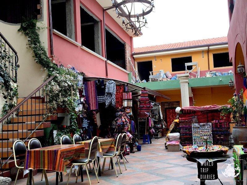 calle de las brujas la paz bolivia