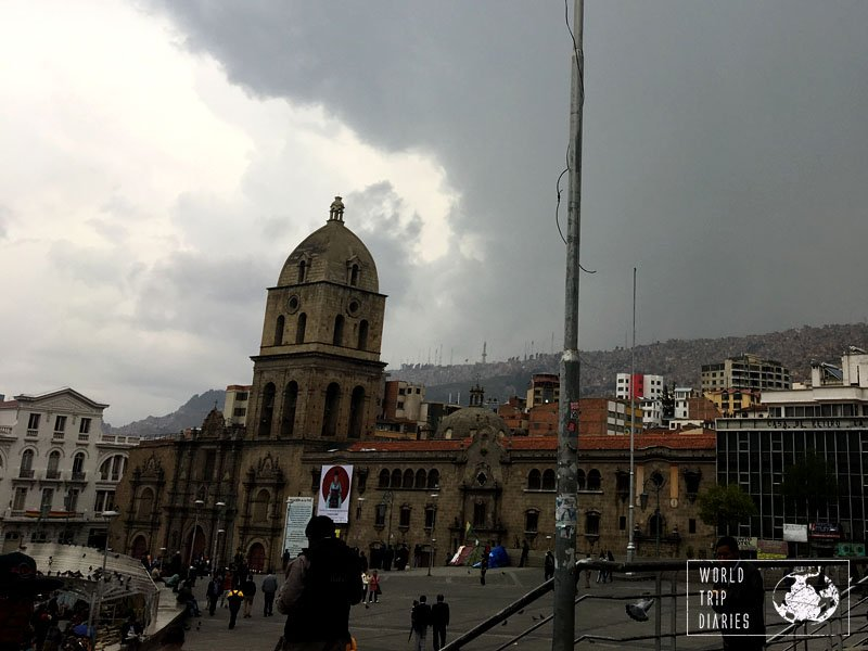 plaza mayor la paz bolivia