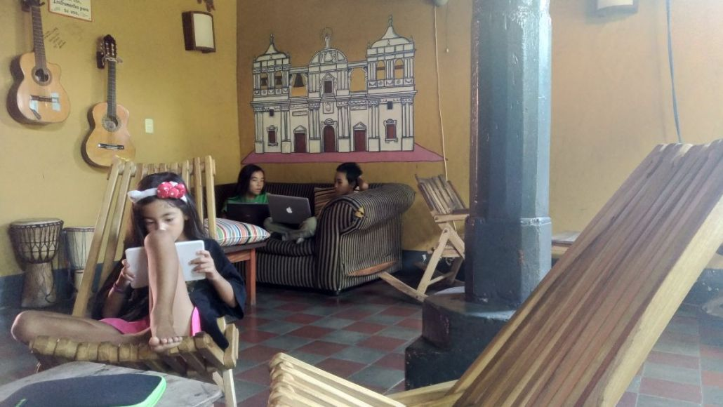 We had our fist hostel experience in Leon, Nicaragua. The kids enjoyed it a lot and it was a great experience! It enhanced the whole town experience!