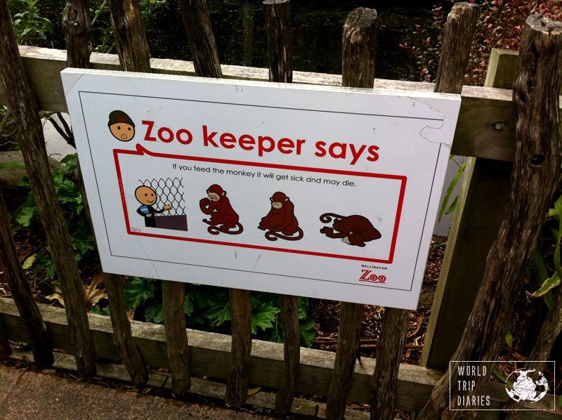 auckland zoo sign