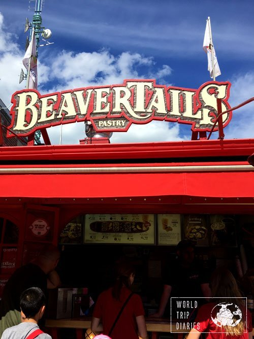 Beavertails is a great option for a quick snack - just make sure you share because they're big!