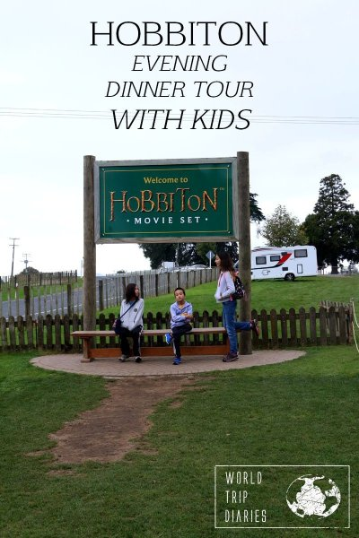 Read our review of the Hobbiton Evening Tour + Dinner with kids!