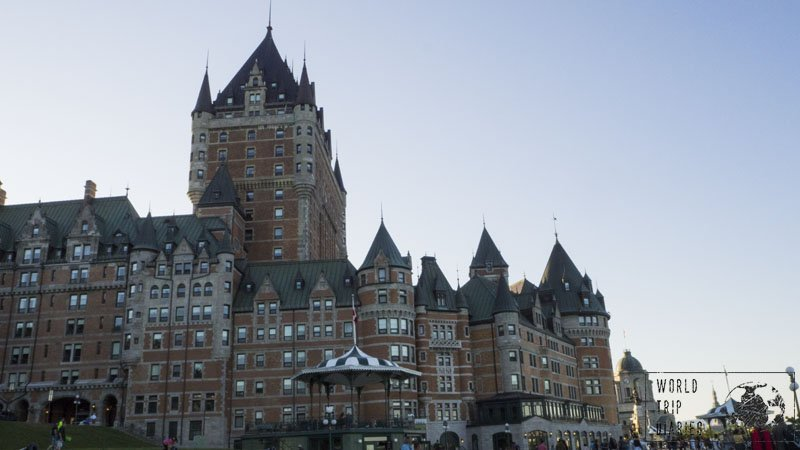 Fairmount Le Château Frontenac is a great icon in Quebec City, and it is a true fairytale castle. What a dream for the whole family!
