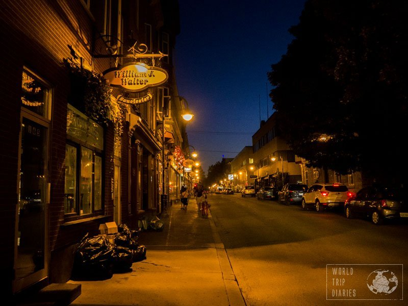 At night time, Quebec City acquires a Harry Potter feel to it, which was very popular with the kids.