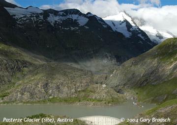 The Pasterze Glacier, Austria - 2004
