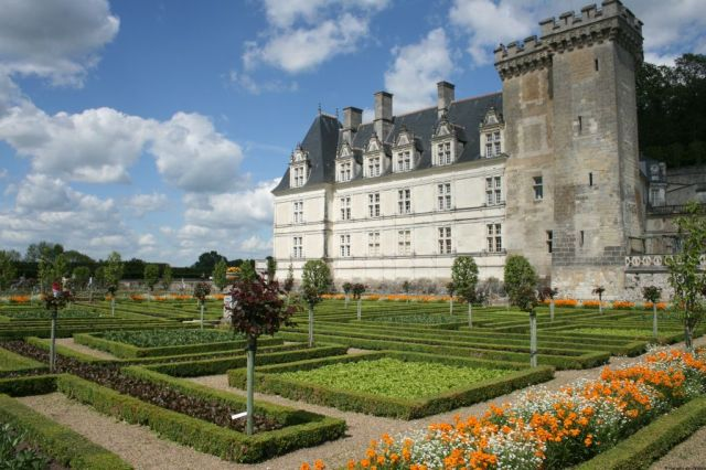 Villandry, Loire Valley, France