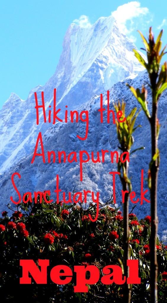 Hiking Annapurna Sanctuary Trek Nepal