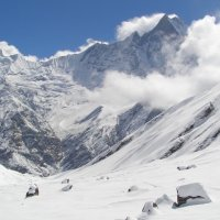Nepal: Trekking to Annapurna Sanctuary Base Camp