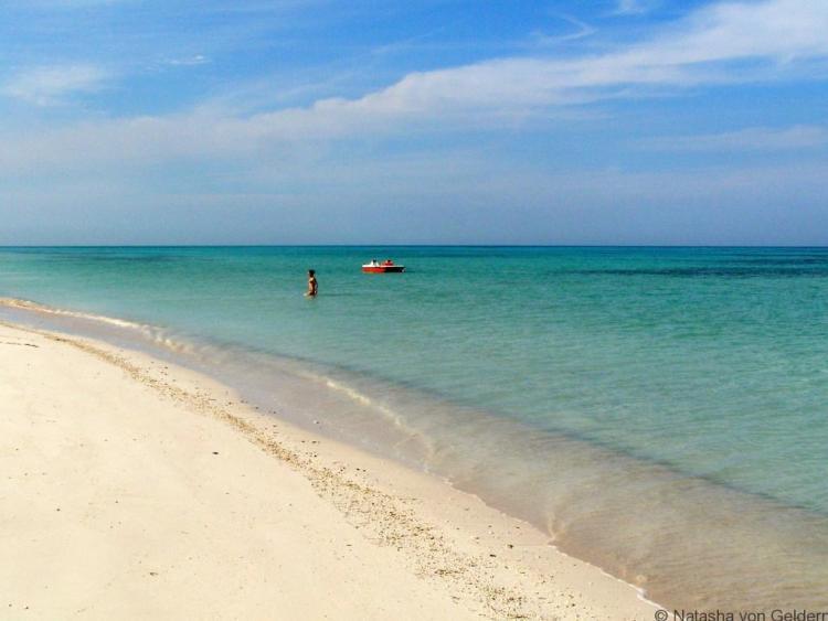Cuba beach paradise