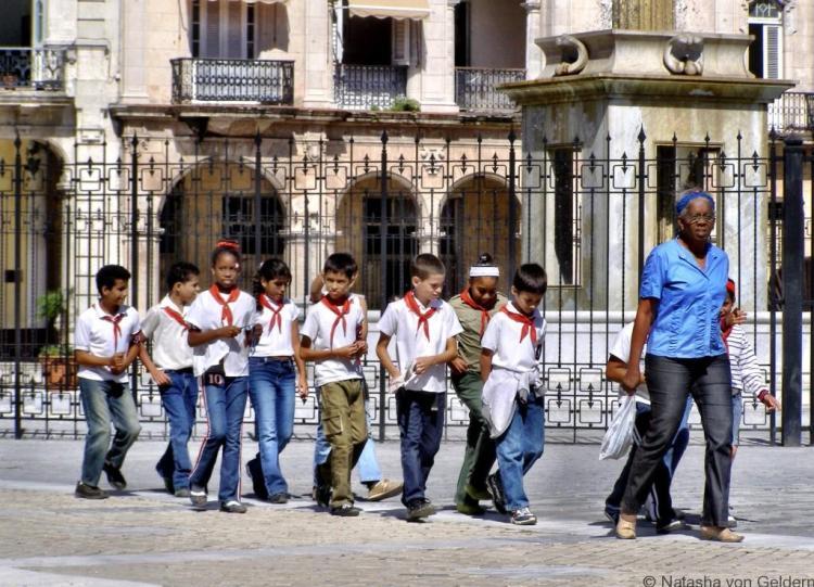 Kids in Havana, Cuba