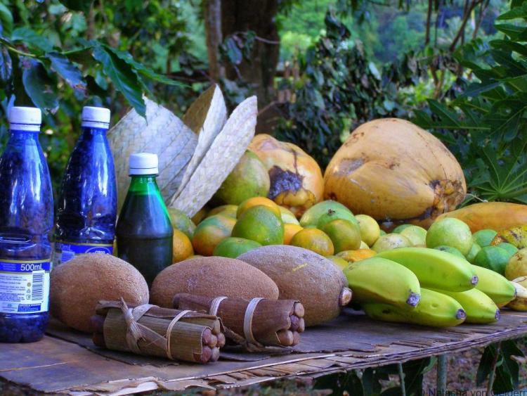 Local produce in Vinales Valley, Cuba
