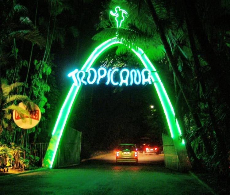 The Tropicana in Havana, Cuba
