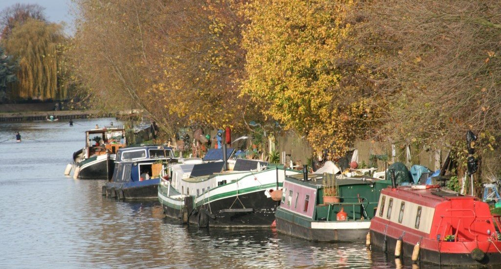 The Lea Valley, east London