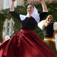 Spain: Folk dancing in Valldemossa, Mallorca