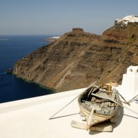 Santorini: Walking from Fira to Oia for sunset