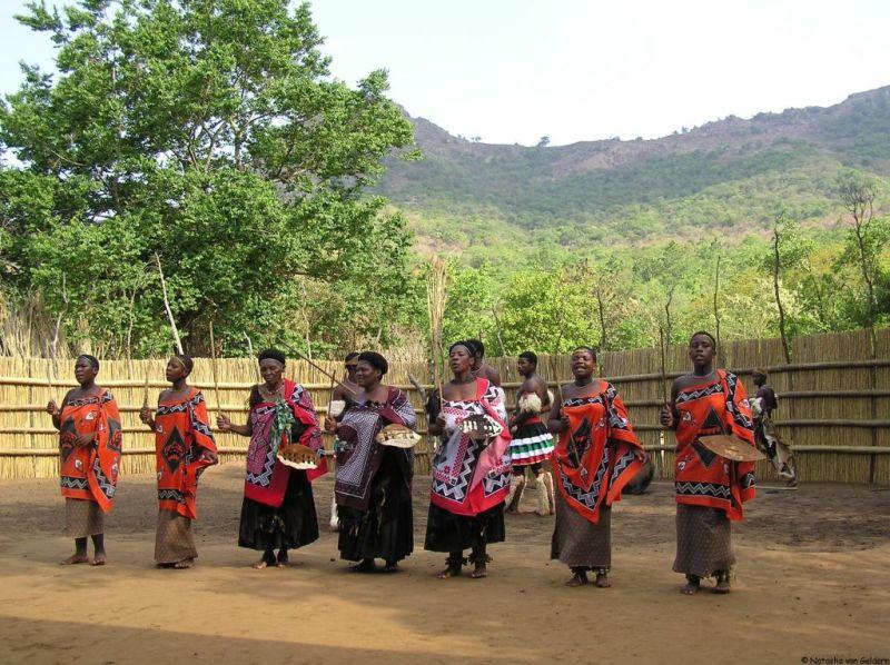 Swaziland model village