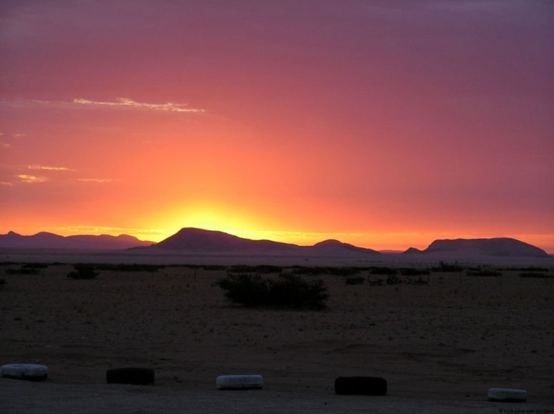 Solitaire sunset, Namibia