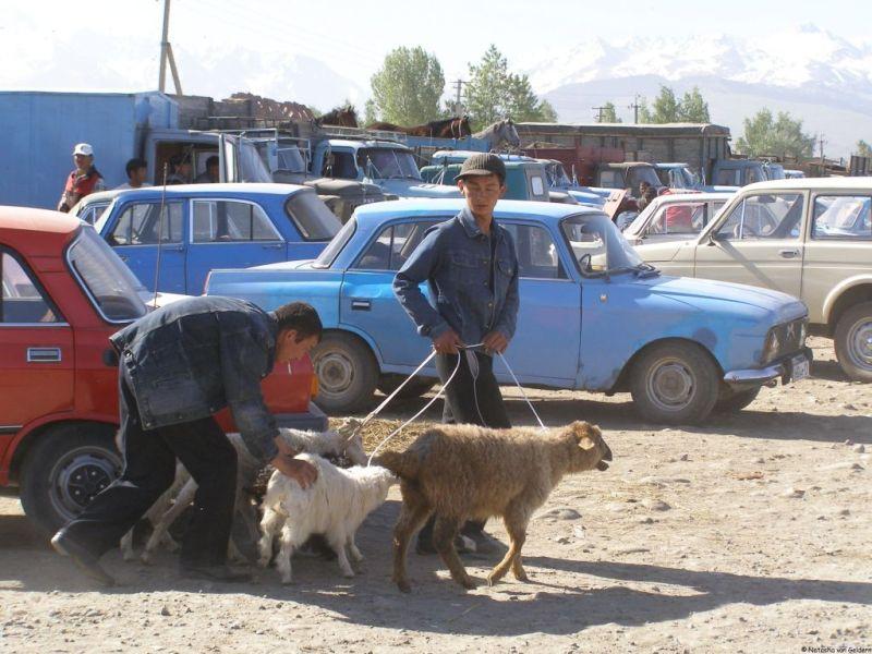 Karakol market, Kyrgyzstan