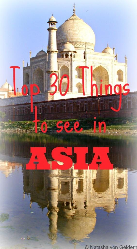 Best places to visit in Asia