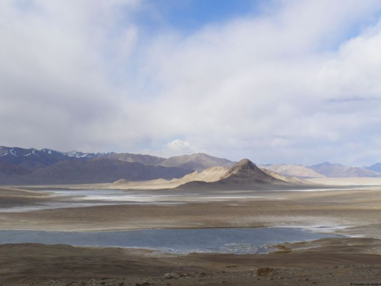 The Pamir Highway, Tajikistan, Central Asia