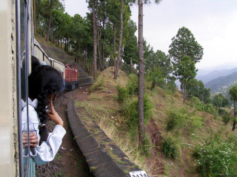 Simla train, India