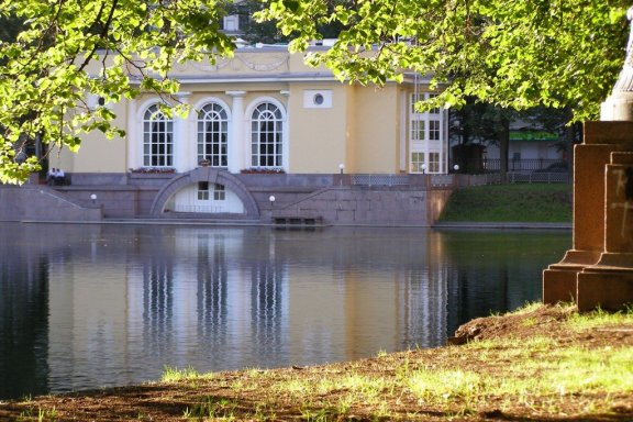 The patriarch's ponds, Moscow, Russia