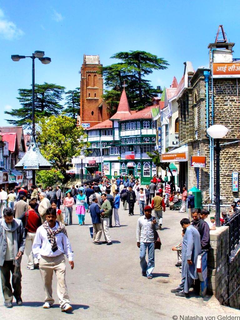 The Mall Simla India