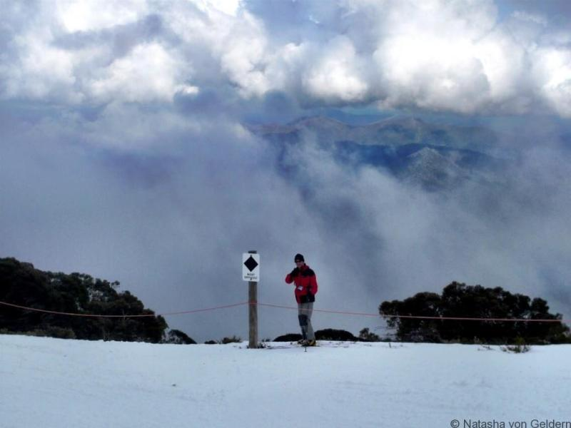 Skiing Mt Buller Australia