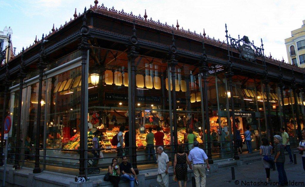 Mercado San Miguel, Madrid, Spain