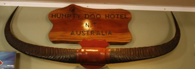 Humpty Doo Outback pub, Australia