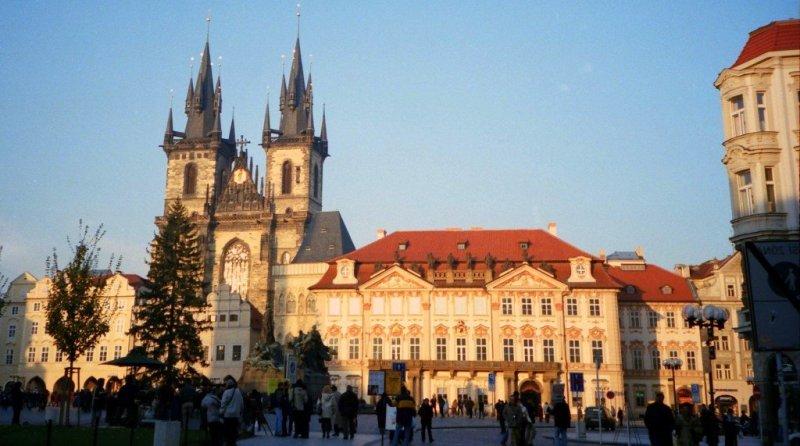 Prague main square, Czech Republic