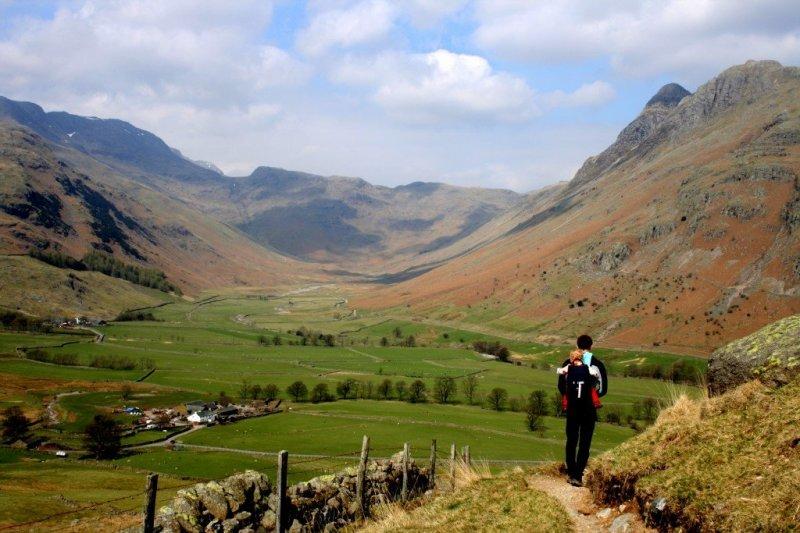 English Lake District Day Walks Langdale Valley