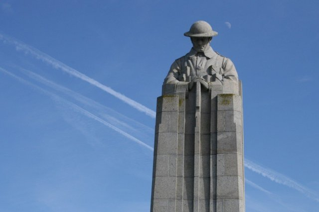Vancouver Corner, Battlefields of the Western Front, Belgium