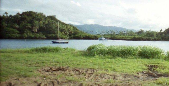 Savusavu harbour, Fiji