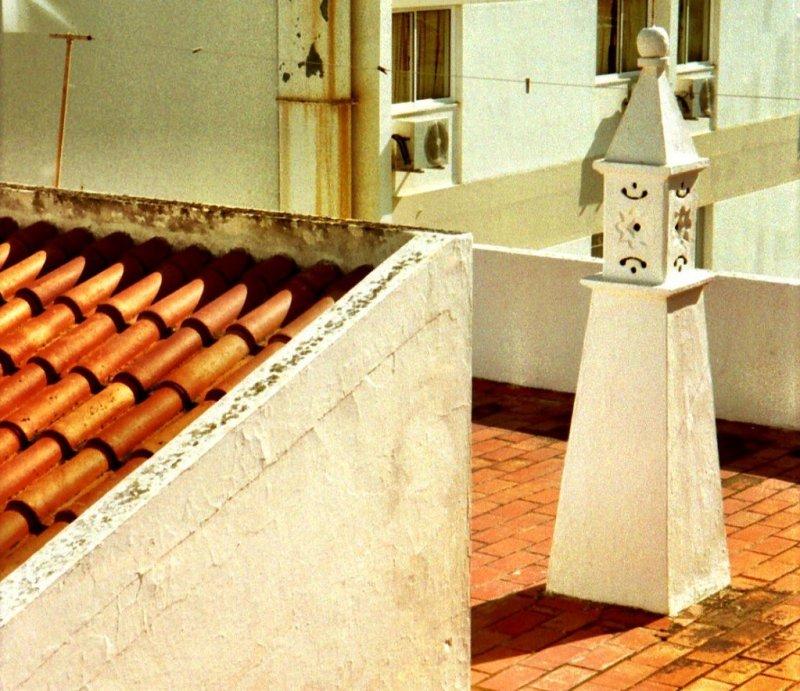 Algarve rooftops, Portugal