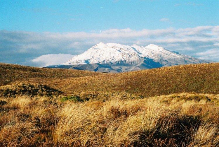 Mt Ruapehu from the Tongariro Crossing, New Zealand
