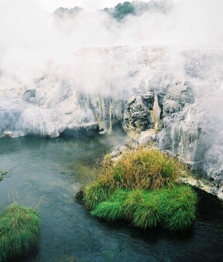 Rotorua geothermal, New Zealand