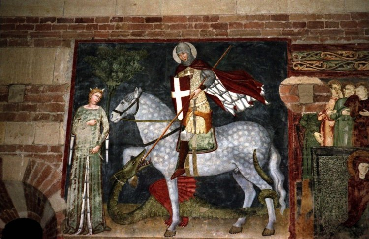 St George and the Princess, St Anastasia - Verona
