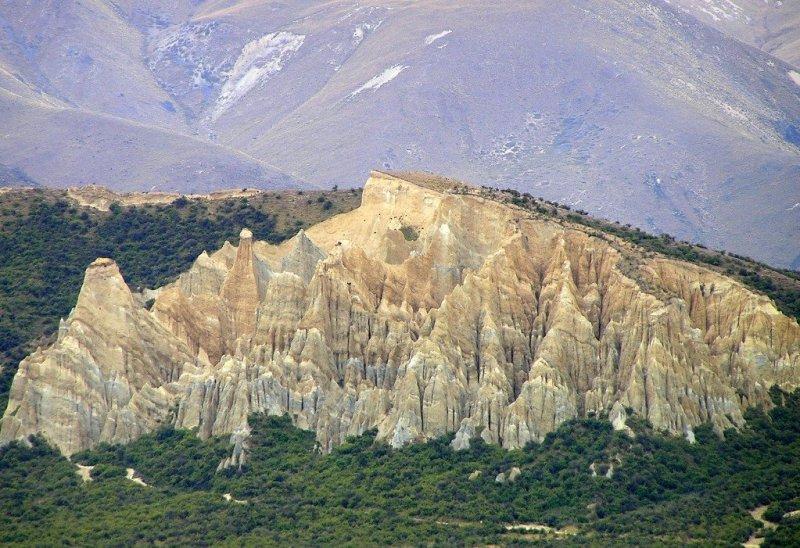 Clay Cliffs, Otago, New Zealand