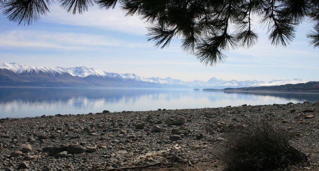 Lake Pukaki and Mt Cook, New Zealand