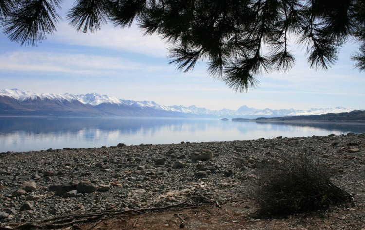 Lake Pukaki and Mt Cook, New Zealand
