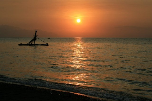 Lovina sunset, North Coast Bali